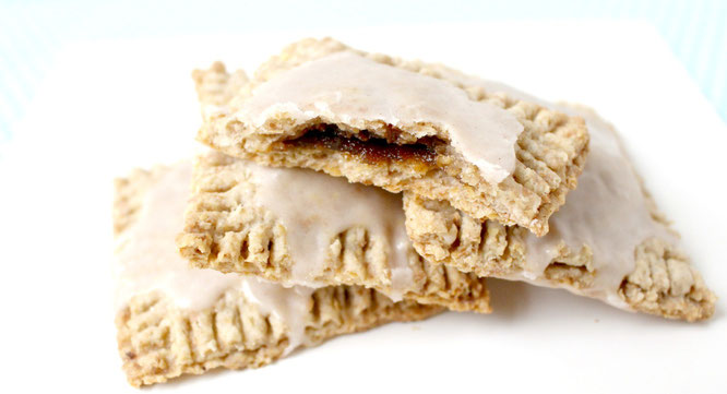 clean eating homemade poptarts!  These have an awesome brown sugar cinnamon filling but a much healthier crust! - by homemade nutrition - www.homemadenutrition.com