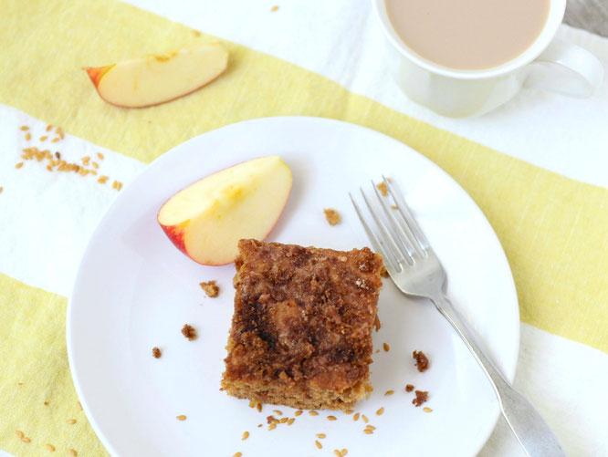 Spiced Apple Cardamom Coffee Cake - Homemade Nutrition ...