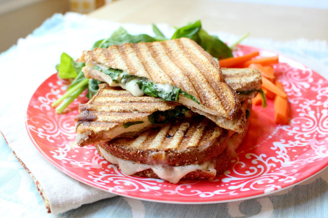 Fast Italian Chicken Panini - Homemade Nutrition - Nutrition that fits ...