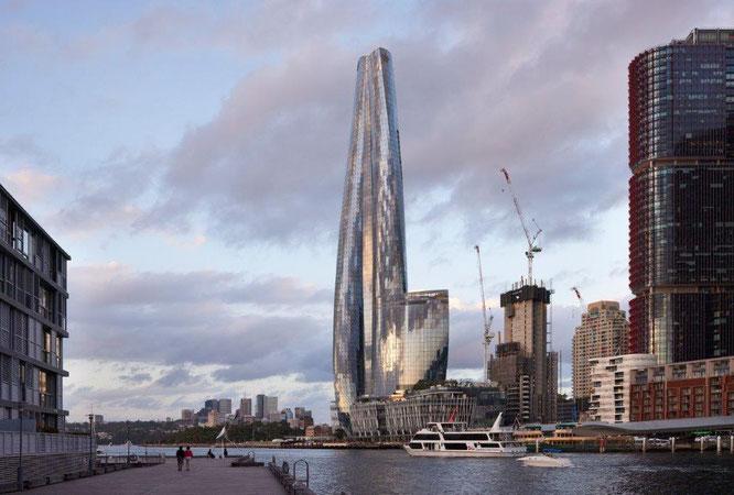 Das One Barangaroo in Sydney, Australien, ist der Wolkenkratzer des Jahres 2020. © Tom Roe