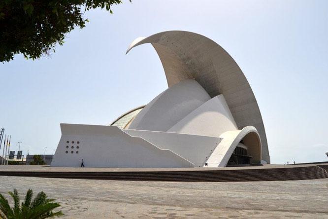 Auditorio de Tenerife, Spanien. Copyright Jose Eliécer Garcia Arango, Flickr