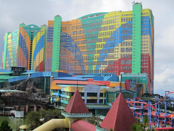 First World Hotel in Genting, Malaysien. © Eqdoktor