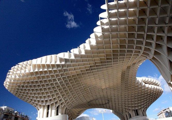 Metropol Parasol in Sevilla, Spanien. © Richard Arculus