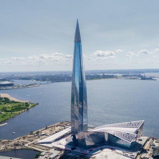 Lakhta Center: Gewinner des Emporis Skyscraper Award 2019. Copyright: GORPROJECT