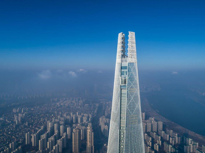 Lotte World Tower in Seoul, Südkorea. Copyright Tim Griffith