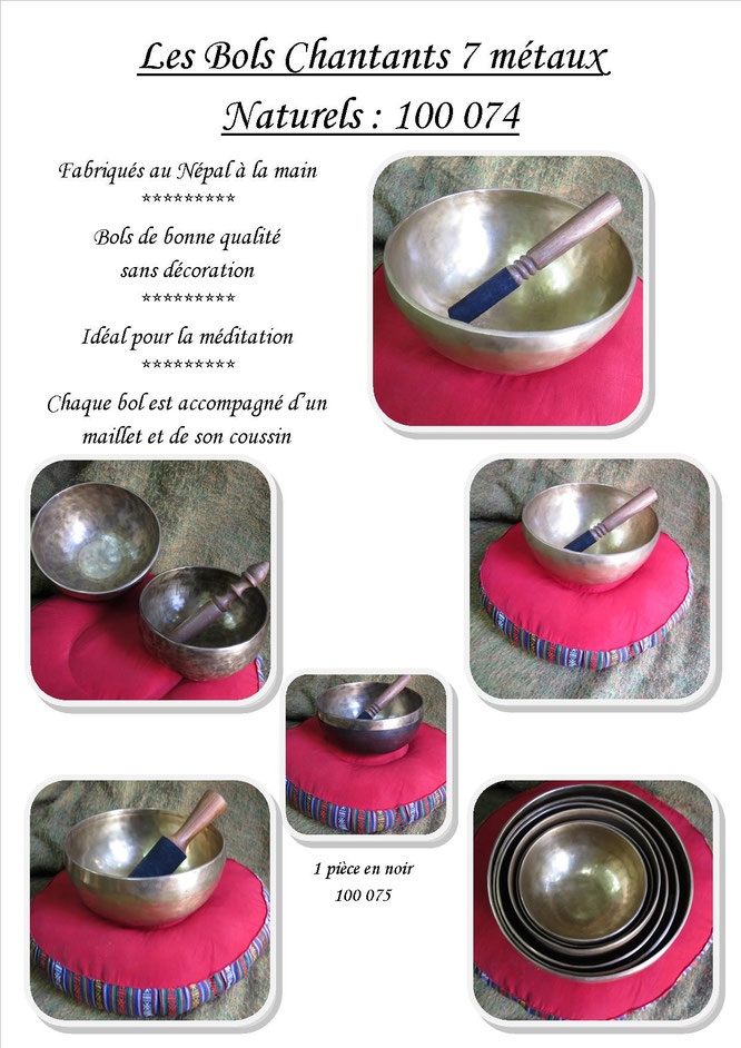 Singing bowl marteler. Made in Nepal