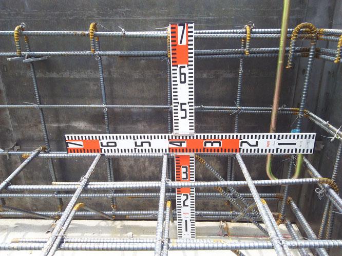 鉄筋定着 基礎下配筋かぶり60mm以上 アンカー根入れ深さ 確認