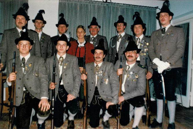 5 Jahre Traditionsabteilung 1997