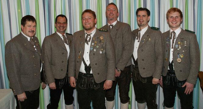 Thomas Weißgerber, Markus Funke, Max Weindl, Thomas Ploschnitznigg, Philipp von Wartburg, Andreas Weber