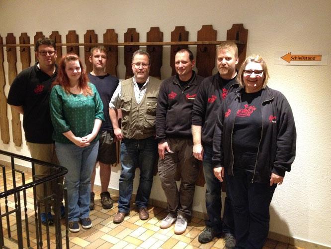 Florian Stiegler. Sonja Stiegler, Bernhard Pfennigmann, Dr. Harald Kempf, Mike Schröder, Jürgen Kiesenbauer, Sylvia Haberstock-Kiesenbauer