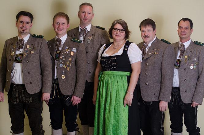 Philipp von Wartburg, Andreas Weber, Christian Ploschnitznigg, Sylvia Haberstock-Kiesenbauer, Thomas Weißgerber, Markus Funke