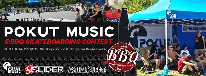 13.06.2015-14.06.2015 Pokut Music @ BBQ Skateboarding Contest, Goldgrund Paderborn