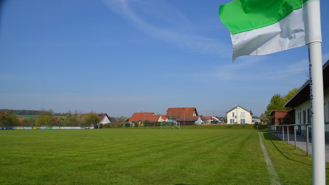 Auf dem Oberndorfer Sportplatz werden wie in ganz Deutschland vorerst keine Spiele mehr ausgetragen.