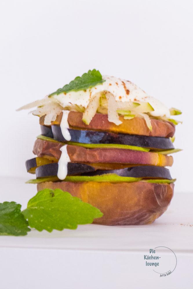 Fruity-Burger, wir grillen heute, seit ihr dabei?