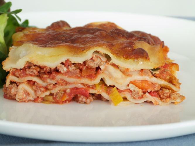 Lasagne mit Hackfleisch