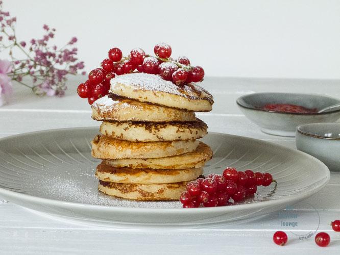 Pancakes mit Beerenfrüchte