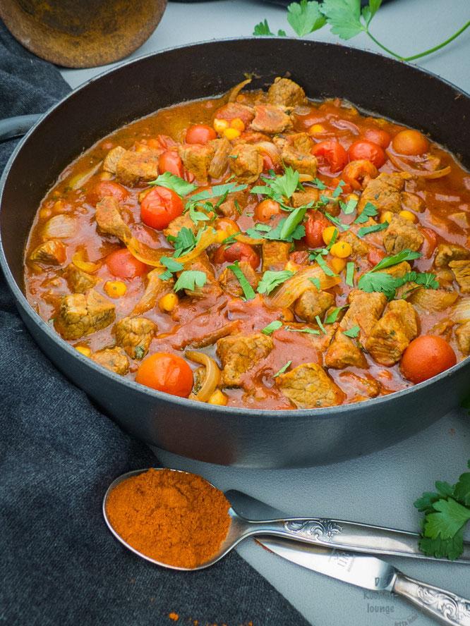 Orientalisches Rindergulasch - ein Gericht aus 1001 Nacht