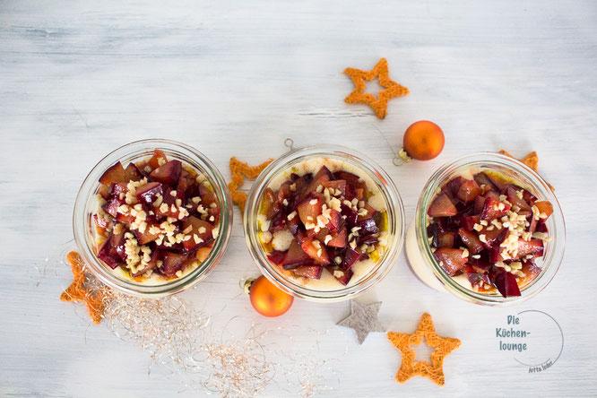 Weihnachtliche Mousse au chocolat