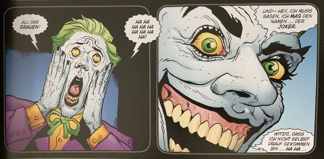 BATMAN/JOKER: Der Mann, der lacht / Autor: Ed Brubaker / Zeichner: Doug Mahnke, Patrick Zircher / Inhalt: 148 Seiten / 17.09.2019 / 16,99 Euro