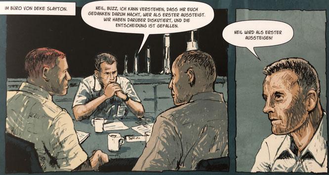 Der zweite Mann, Splitter Verlag, Von: Peter Eickmeyer / 56 Seiten / Juni 2019 / 15,00 Euro