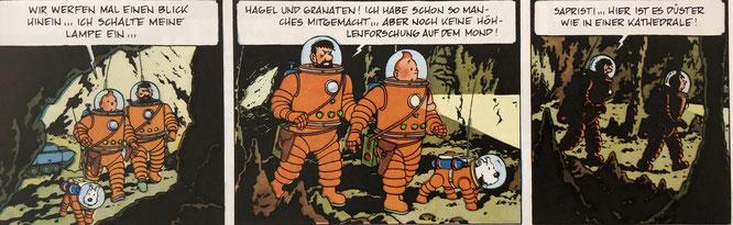 Tim und Struppi auf dem Mond (Doppelalbum), Carlsen, Von: Hergé / 144 Seiten / Juni 2019 / 20,00 Euro