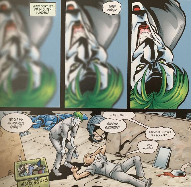Batman/Joker: Wer zuletzt lacht / Panini Comics (DC) / Autoren: Chuck Dixon, Scott Beatty / Zeichner: Marcos Martin, Pete Woods, Rick Burchett / 204 Seiten / 17.09.2019 / 19,99 Euro