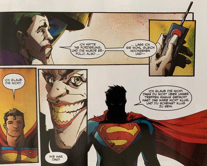 Joker Special / Panini (DC) / Autoren: Chuck Dixon, Max Landis / Zeichner: Butch Guice, Jock / Inhalt: 52 Seiten / 01.10.2019 / 3,99 Euro