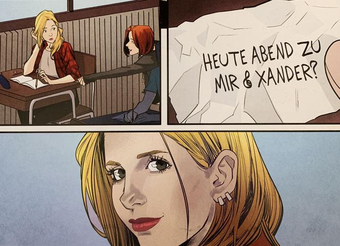 Buffy the Vampire Slayer 1: Schule ist die Hölle / Panini / 132 Seiten / 15,00 Euro