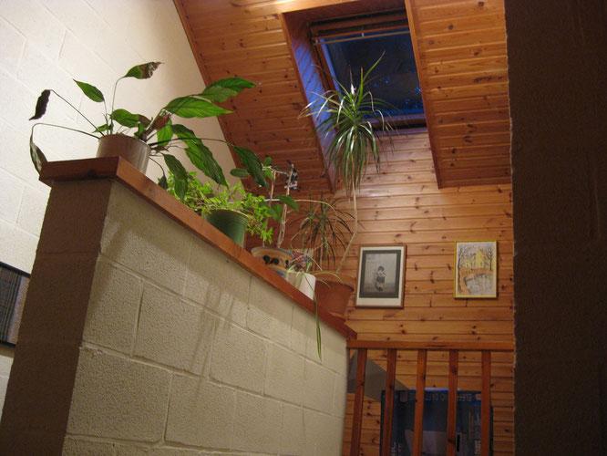 La cage d'escalier est un conditionneur d'air en été