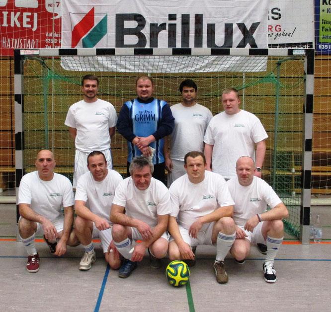 unser Team bei den Brillux-Hallenmeisterschaften im Februar 2017
