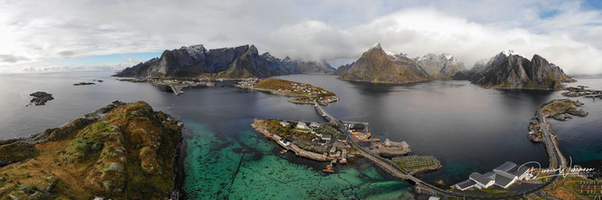 lofoten norway dji mavic air drohne