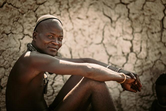 faces of namibia portrait himba man