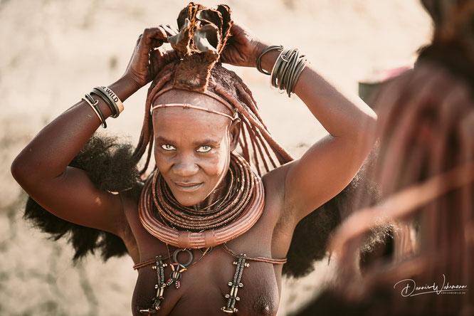 himba kaokoveld namibia