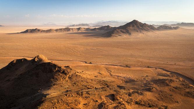 Namib sky balloon safari Namibia - Namib Naukluft Park, Sossusvlei - one of my personal most amazing views