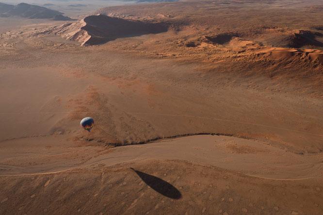 Namib sky balloon safari Namibia - Namib Naukluft Park, Sossusvlei - the landing destination