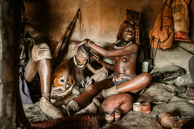 himba kunene kaokoveld namibia