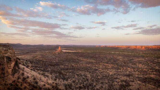 nikon d850 24mm - sonnenuntergang namibia vingerklip