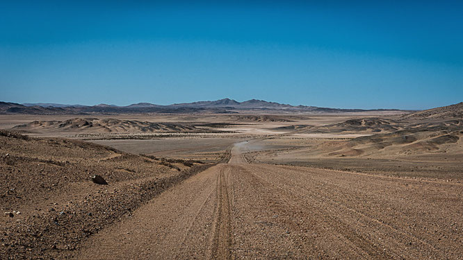 panorama - diamant restricted area Namibia