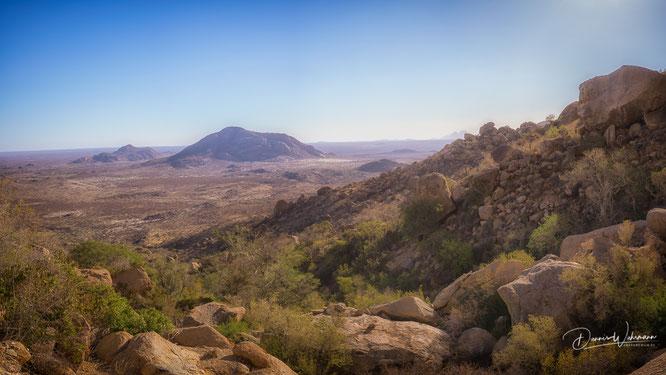 mineralschürfer Hohenstein fels namibia