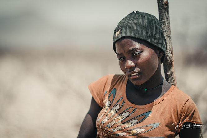 himba women kaokoveld namibia - red drum