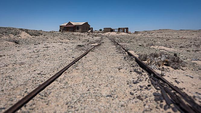 Old town Pomona , diamant restricted area Namibia
