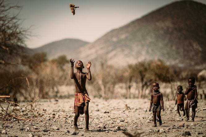 faces of namibia boy epupa falls