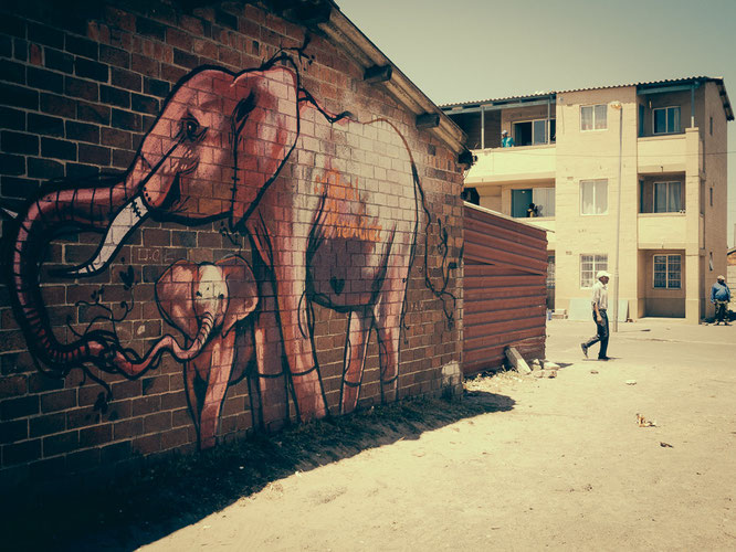 Graffity Township Langa Cape Town South Africa - the message is love