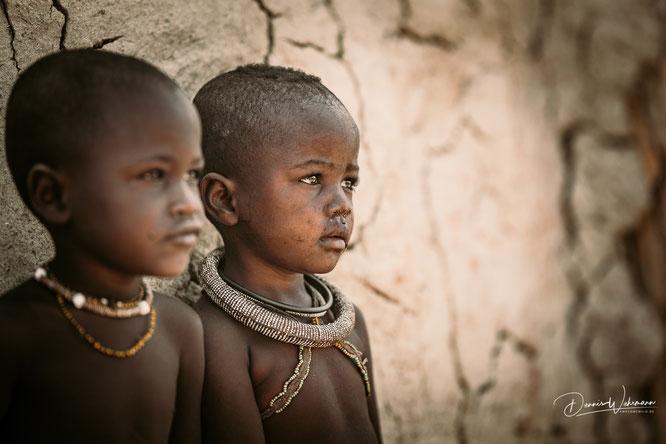 himba jungen epupa kaokoveld namibia