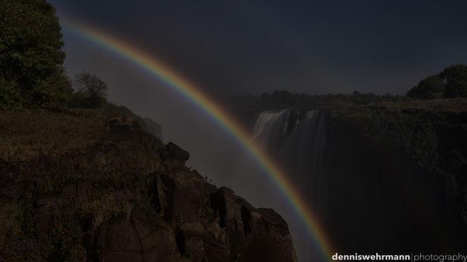 rainbow victoria falls zimbabwe