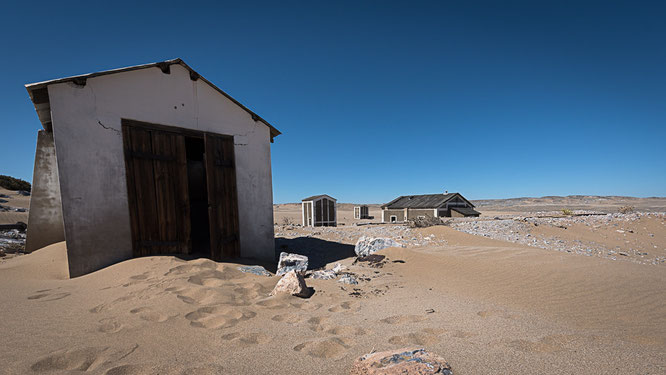 Old town Grillenthal, diamant restricted area Namibia