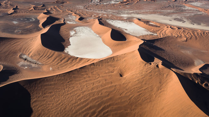 sossusvlei dead vlei namibia, bird eye view