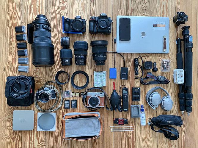 Fotoequipment Sambiareise