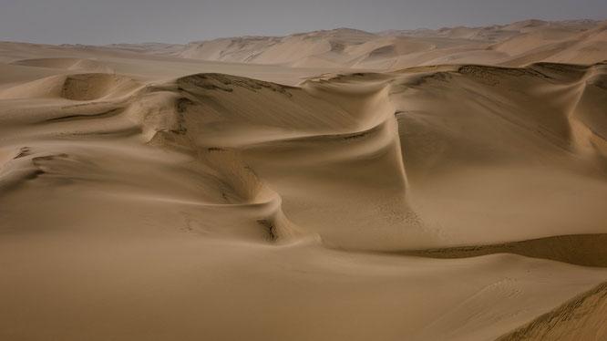 Ein schier endloses Wellenmeer aus Sand in der ältesten Wüste der Welt, der Namib.