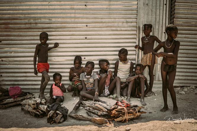 nikon z7 35mm portrait himba kids - Epupa falls namibia